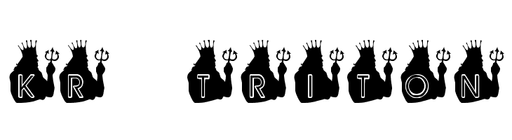 KR Triton Free Fonts Download