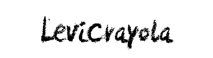 LeviCrayola Free Fonts Download