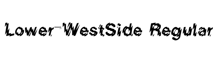 Lower-WestSide Regular Free Fonts Download