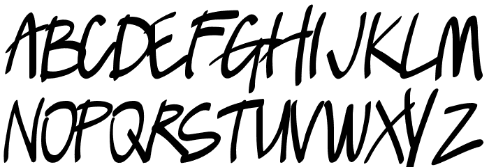 Lush Font LOWERCASE