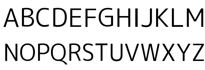 M+ 1c regular फ़ॉन्ट अपरकेस
