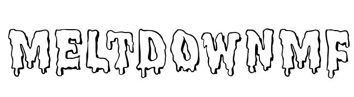 MeltdownMF  नि: शुल्क फ़ॉन्ट्स डाउनलोड