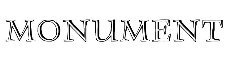 Monument Font