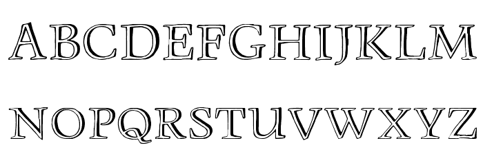 Monument Font LOWERCASE