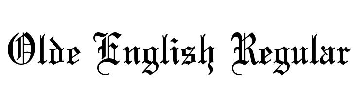 Olde English Regular  Fuentes Gratis Descargar