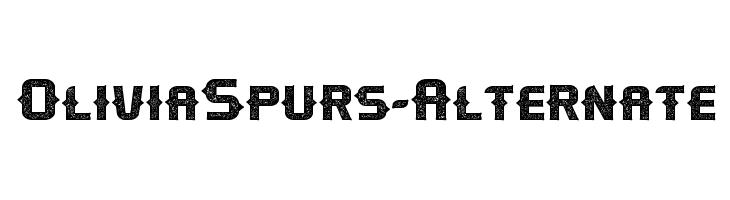 OliviaSpurs-Alternate  免费字体下载