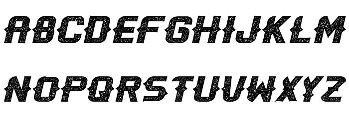 OliviaSpurs-Regular 字体 大写