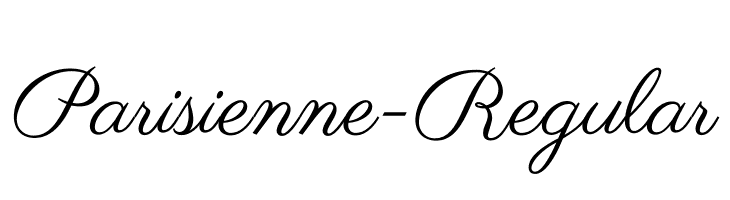 Parisienne-Regular Free Fonts Download