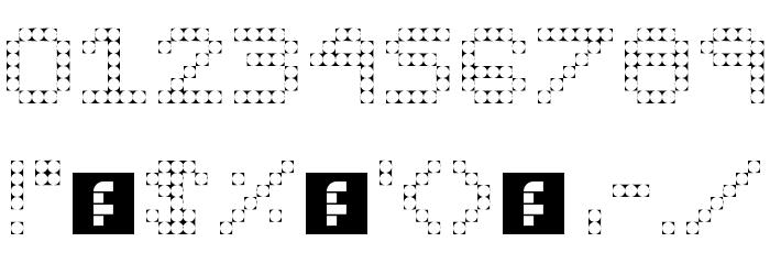 Pixel III Regular 字体 其它煤焦
