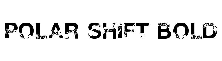 Polar Shift Bold  Free Fonts Download