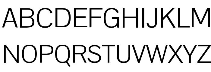 Pontano Sans Font UPPERCASE