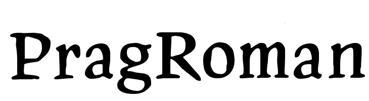 PragRoman Free Fonts Download