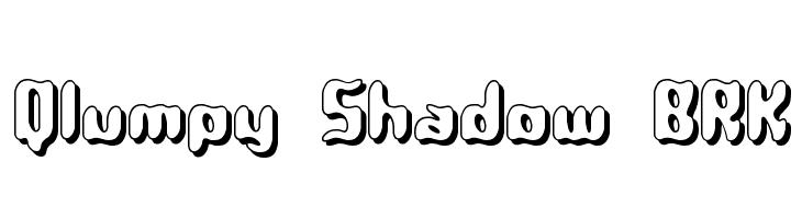 Qlumpy Shadow BRK  नि: शुल्क फ़ॉन्ट्स डाउनलोड