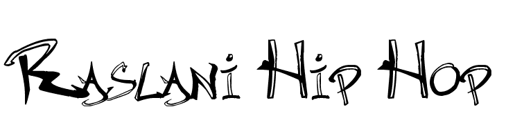 Raslani Hip Hop Free Fonts Download