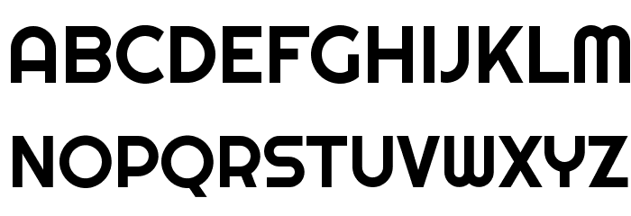 Righteous Font UPPERCASE