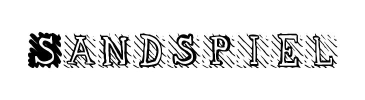 Sandspiel  les polices de caractères gratuit télécharger