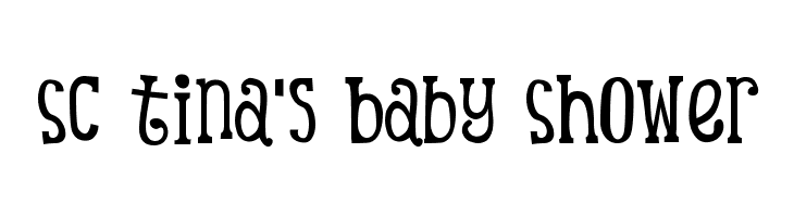 sc tina 39 s baby shower free fonts download