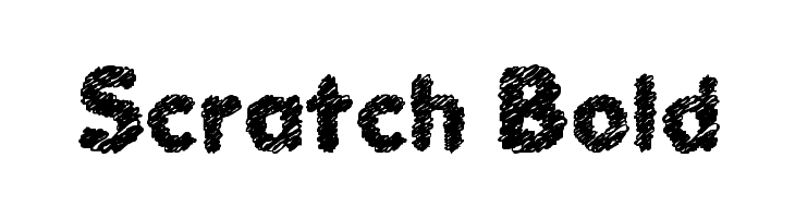 Scratch Bold Free Fonts Download