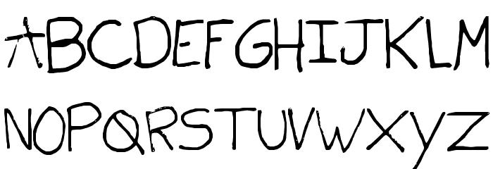 shells Font UPPERCASE