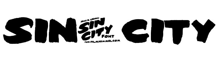 Sin-City Font