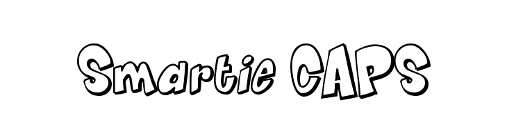 Smartie CAPS Free Fonts Download