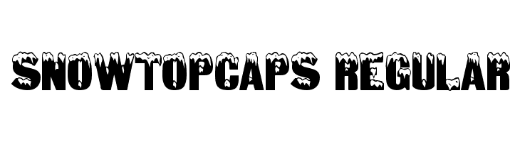SnowtopCaps Regular Free Fonts Download