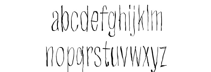 Strawobbly Polices MINUSCULES
