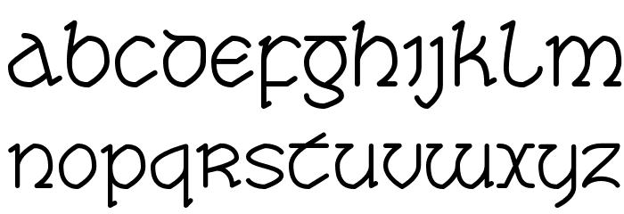 Taisean Font UPPERCASE