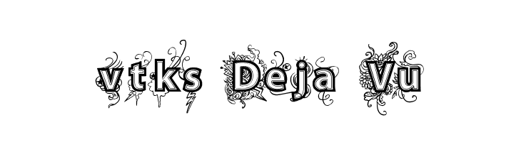 vtks Deja Vu Free Fonts Download