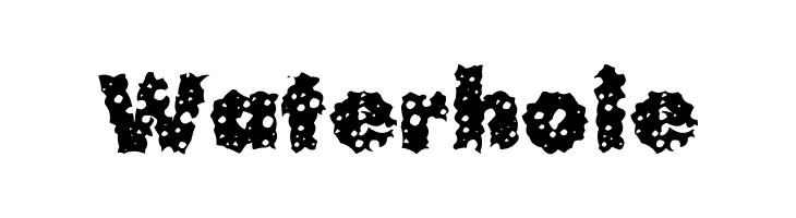 Waterhole  नि: शुल्क फ़ॉन्ट्स डाउनलोड