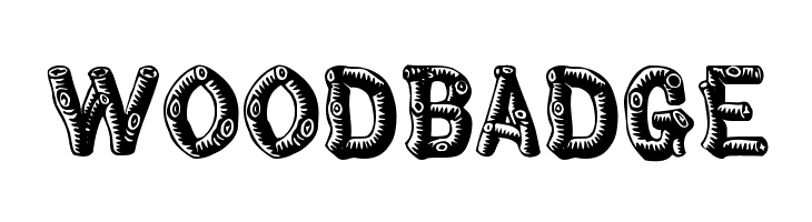 Woodbadge Free Fonts Download