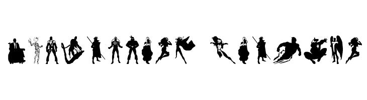 X-Fighters Regular  免费字体下载