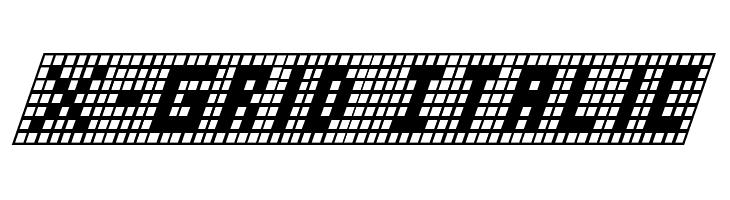 X-Grid Italic  免费字体下载