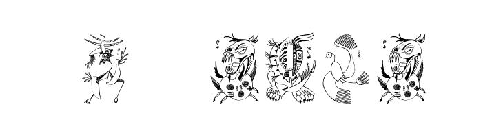 Z-Most Critter  免费字体下载