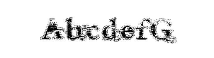 ABCDEFG Andalusian Trial Font