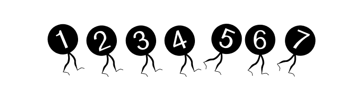 ABCDEFG DongbutsBeings-Oblique Font