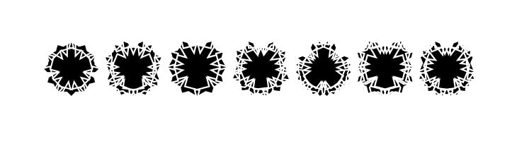ABCDEFG Ovulution II Nucleus Font