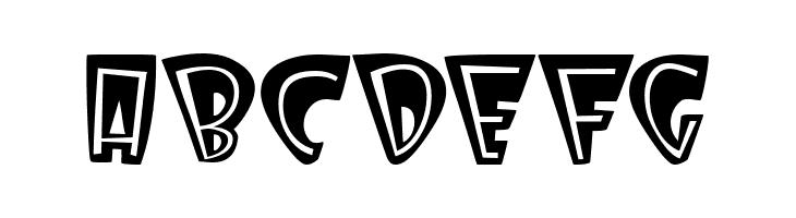 ABCDEFG Deville Font