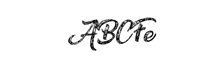 ABCFe Drawing Nature Personal Use Font